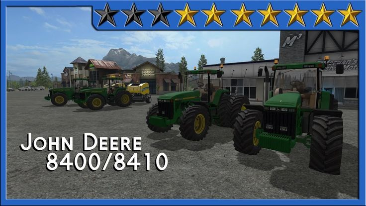 Review John Deere 8400 #FS17