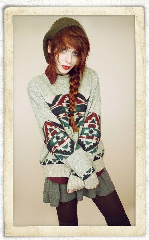 Layered Fashion in Winter