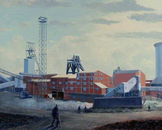 Robert John Heslop (1907–1988)  - Horden Colliery, County Durham