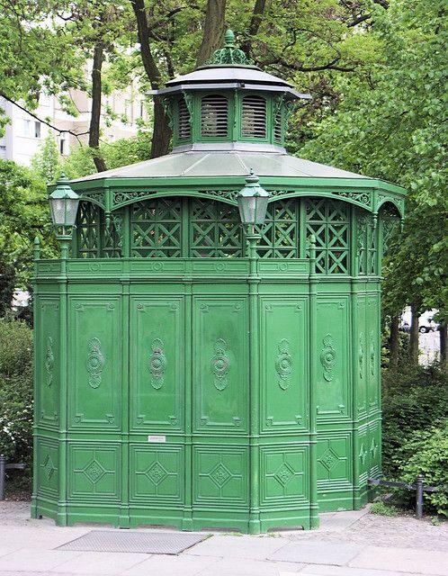 B.E.R.L.I.N      ~  My Home Town ~ ღღ Berlin - Historic public restroom (Schönhauser Allee)