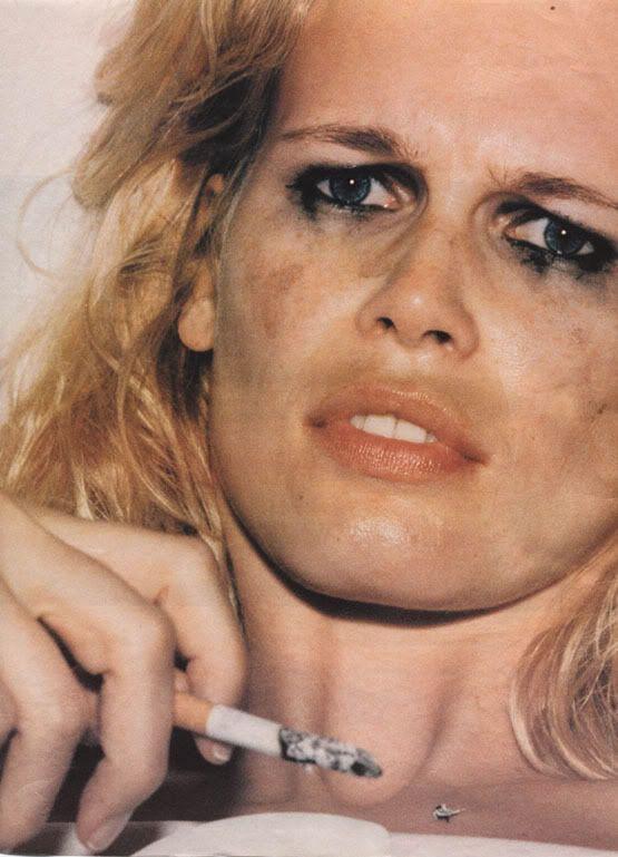 Claudia Schiffer / Juergen Teller. #claudiaschiffer #juergenteller #beauty