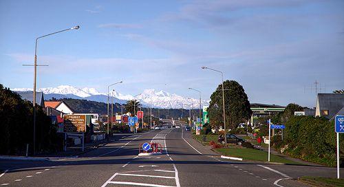 The hills of Hokitika, West Coast, New Zealand