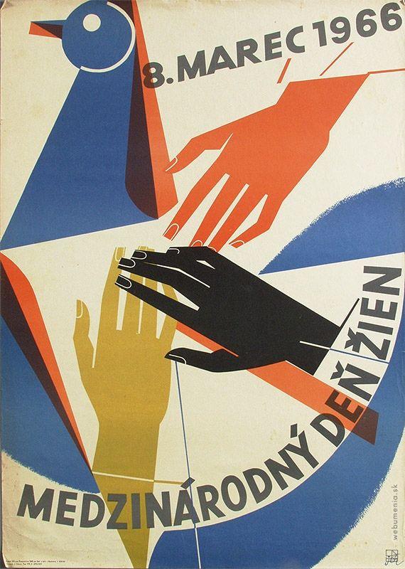 March 8th 1966- International Women's Day Grafický dizajn | Web umenia