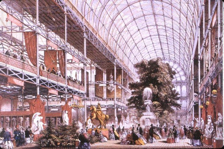 Joseph Paxton – pałac Kryształowy w Londynie