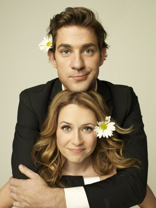 The Office (John Krasinski & Jenna Fischer)..... This is a super cute pose.