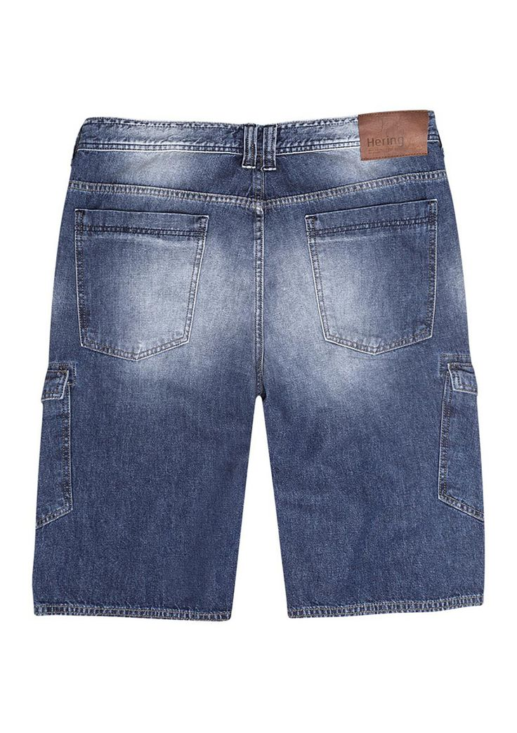 Bermuda masculina hering tipo cargo em jeans na Hering