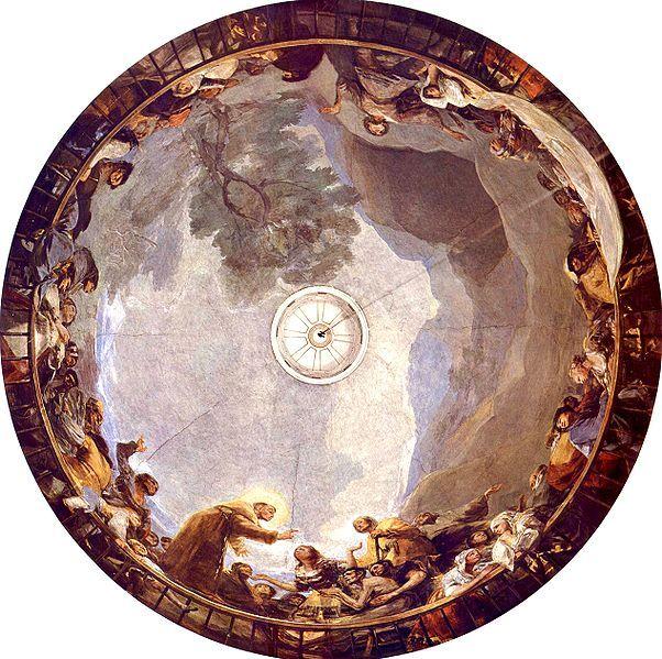 Eremita San Antonio Goya freskóival