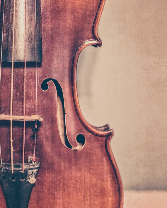 Violin Fine Art Photography Fiddle Photo by KEnzPhotography