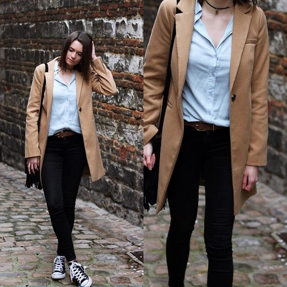 Get this look: http://lb.nu/look/8563005  More looks by Audrey: http://lb.nu/audrey_c  Items in this look:  Primark Coat, Ivy Revel Shirt, Asos Jeans, Converse Sneakers   #winter #asos #primark