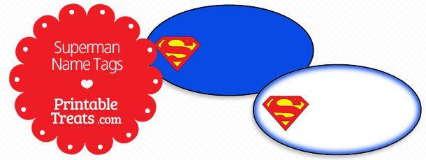 Large Printable Superman Logo — Printable Treats.com