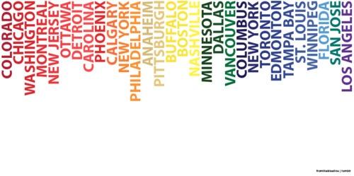 Team colors!
