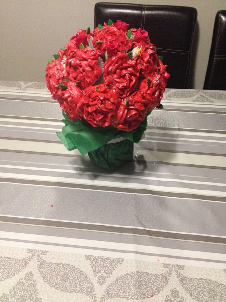 Cupcake Rose Bouquet