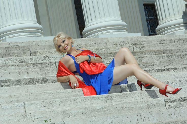 Museum steps....
