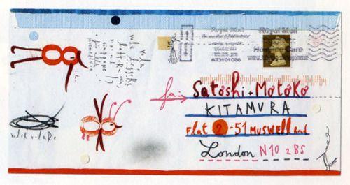muirgilsdream: Envelope, Sara Fanelli.