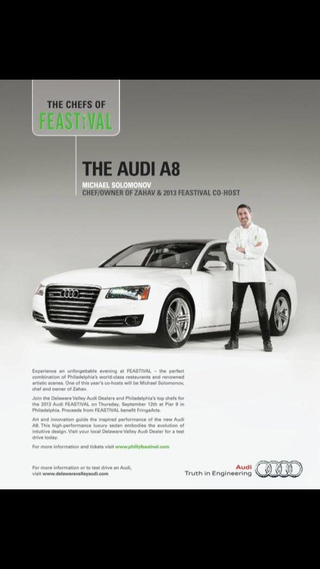 Audi Ad Philadelphia Magazine Audi Audi A8 Michael Solomonov