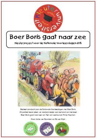 Boer Boris gaat naar zee lesideeën