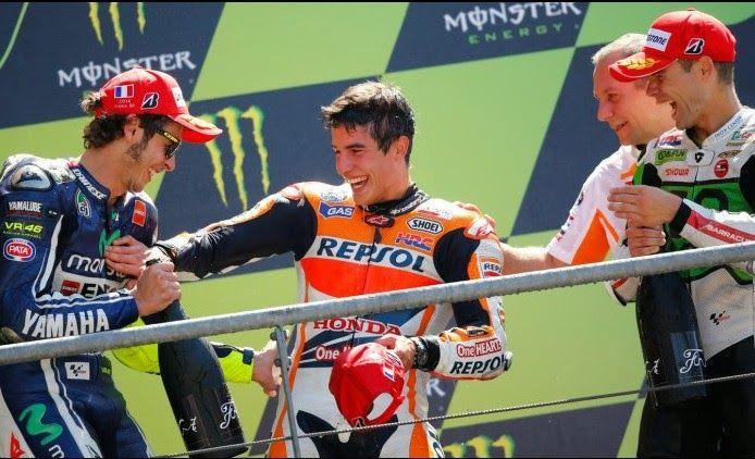 Blog Esportivo do Suiço: Em prova de recuperação, Márquez vence quinta seguida em 2014