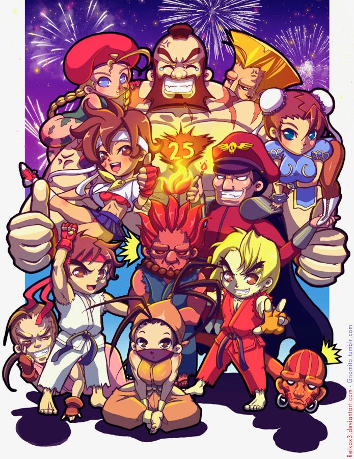 Street Fighter: Now it's really 30th anniversary!!