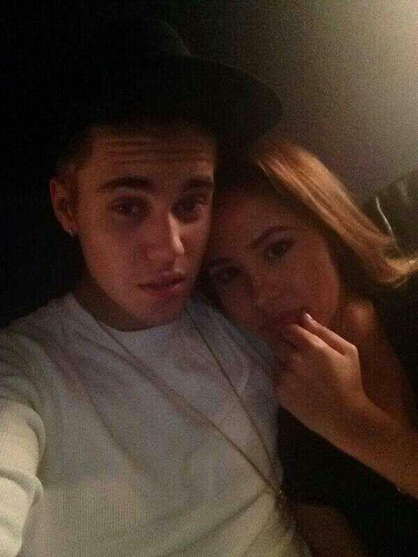 Justin Bieber & Chantel Jeffries cute