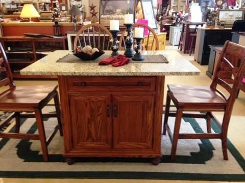 Kitchen Islands Are Available At The Amish Buggy Customize Yours Today 6075 Peach Street
