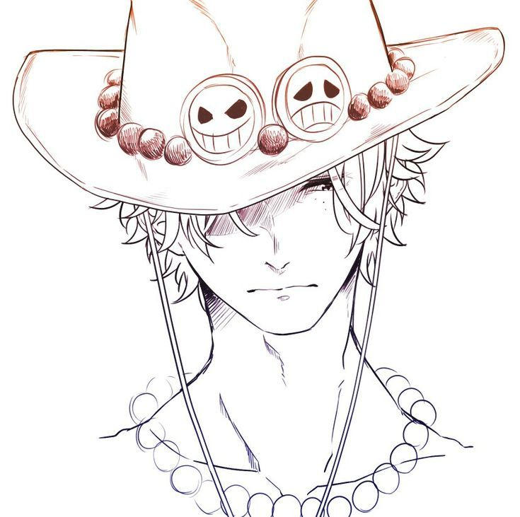 How To Draw Sabo From One Piece In 2020 Drawings Cool Sketches Draw