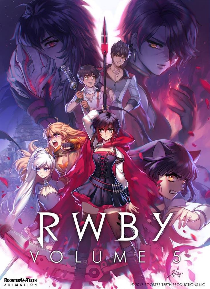 RWBY: Official Volume 5 Poster