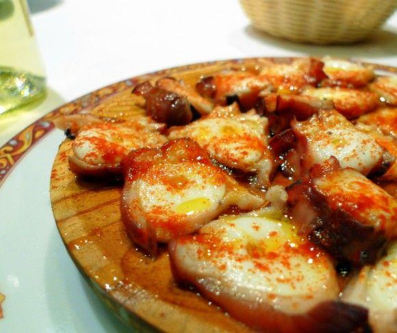 Receta pulpo a la gallega o a feira - El Aderezo - Blog de Recetas de Cocina