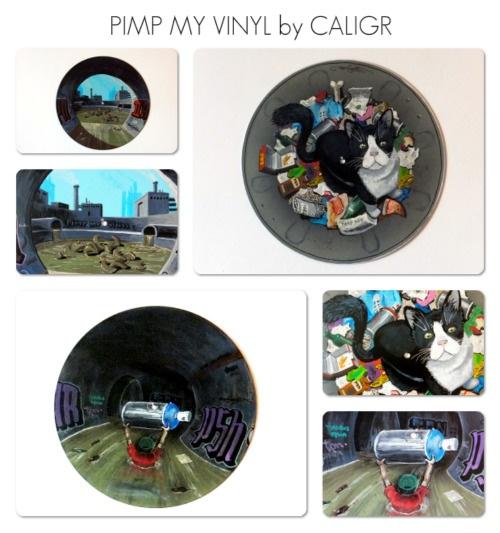 PIMP MY VINYL COLLECTION • 2012 • CUSTOM by CALIGR