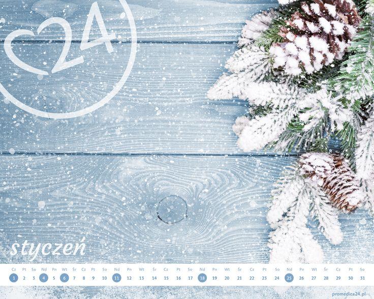 Promedica24 - e-kalendarz - Styczeń 2015 1280x1024