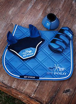 HV Polo saddle cloth, ears and boots set