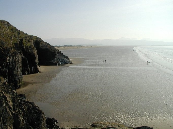Black Rock Sands near Criccieth in North Wales. Many happy memories...