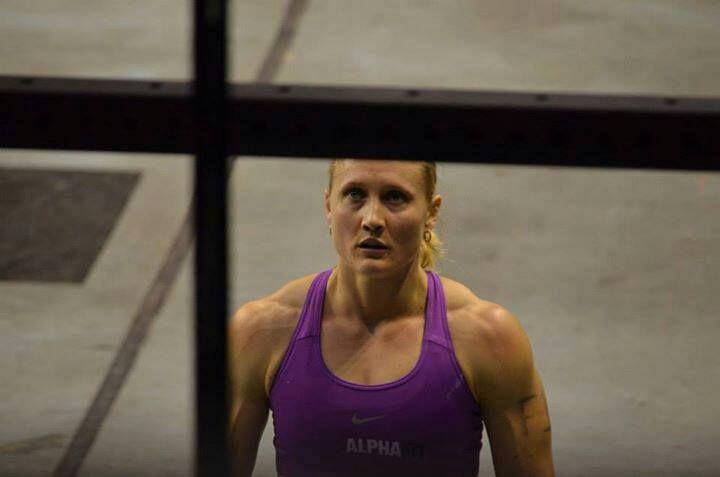 Andrea Miller: Spirit of the Games Winner. #CrossFit #CrossFitGames #CrossFitRegionals