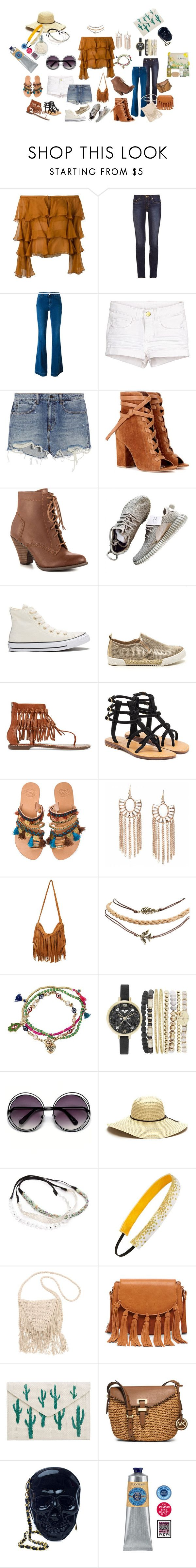 """feel 1970"" by veronic-s on Polyvore featuring Balmain, Tory Burch, STELLA McCARTNEY, Alexander Wang, Gianvito Rossi, Mojo Moxy, Converse, Sam Edelman, Mystique and Elina Linardaki"