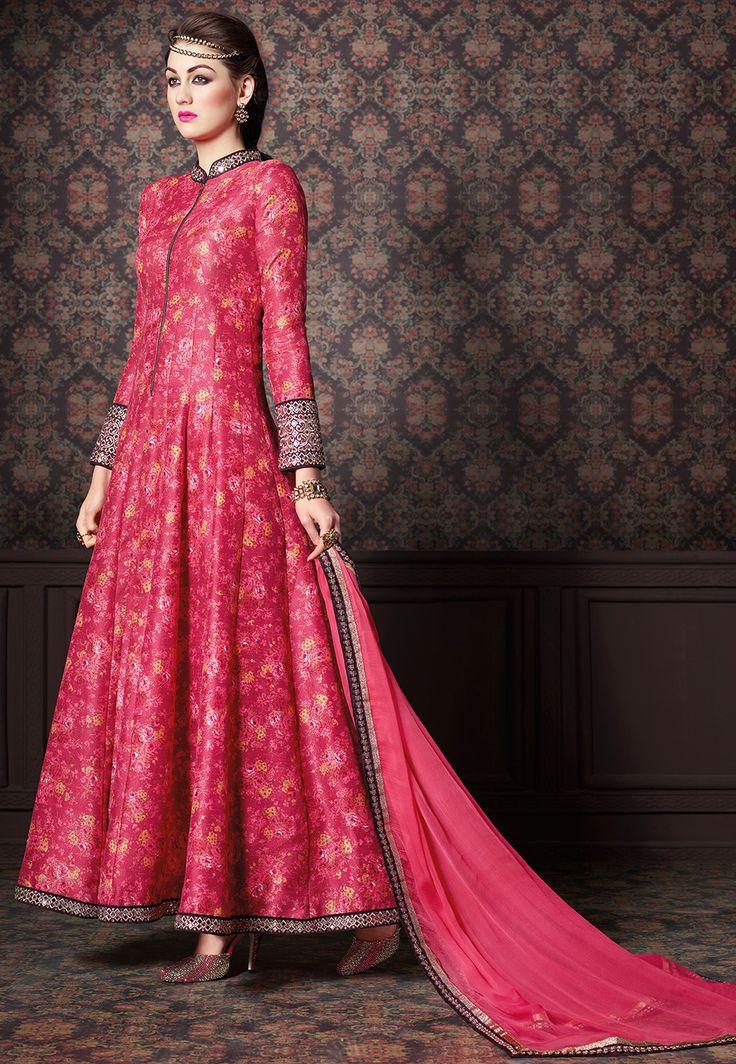 #Suit in Fuchsia