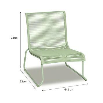 Loungestoel Capri groen | Tuinstoelen | Tuinmeubelen | Tuin | GAMMA