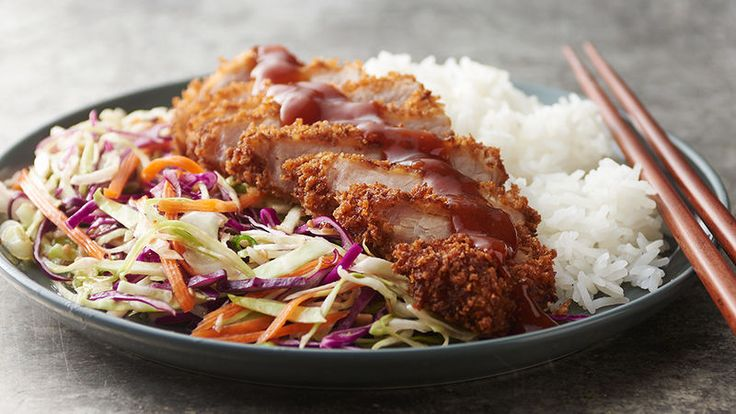 It's easier than you think to make tonkatsu (Japanese fried pork chops) and we're guessing it'll become your new go-to recipe. It elevates plain pork chops from dry, lean cuts of meat to a juicy, crispy dinner you won't soon forget.