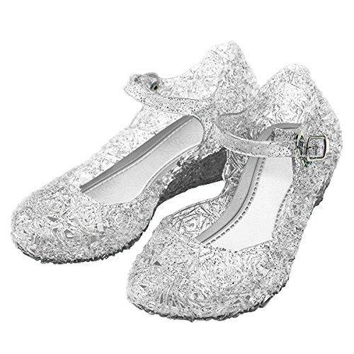 Oferta: 21.89€. Comprar Ofertas de Katara - Zapatos para disfraz de princesa color Blanco, EU . 26 (tamaño del fabricante 28) barato. ¡Mira las ofertas!
