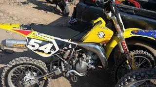 Lapak Motor Trail: Suzuki RM85 Jos Tahun 2006