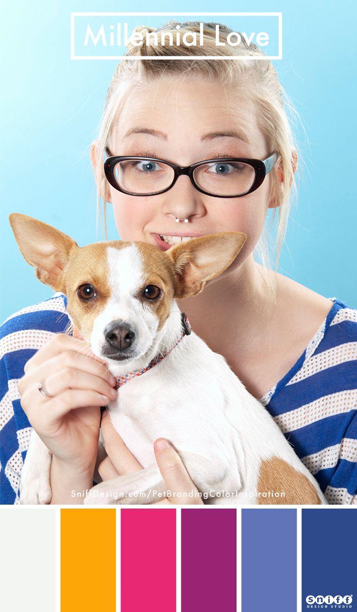 Pet Branding Color Inspiration For Petpreneurs Pet Branding Brand Style Board Brand Color Palette