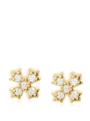 Fraydee Collection Cross Stud Earrings