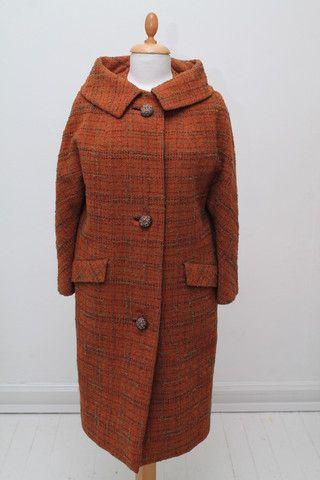 Tweed frakke 1960. M-L