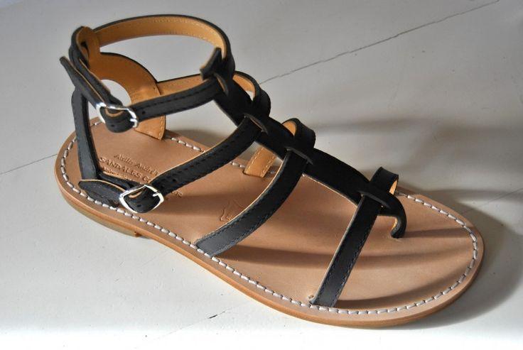sandales tropeziennes spartiates modele GIANNI