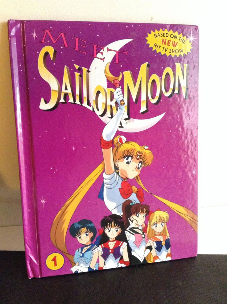 Vintage Sailor Moon Book : MEET SAILOR MOON 1 Hard Cover 1995 Book Excellent Condition, Anime Cartoon, Japanese Cartoon Character by TurnThePageBookShop on Etsy