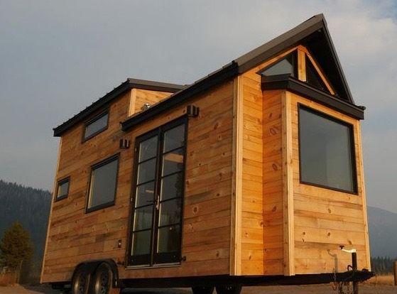 Modern Tiny House On Wheels Tiny House Pinterest