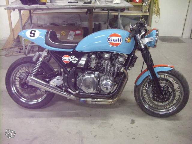 Old School. Cafe Racer Workshop - Forum z750.org