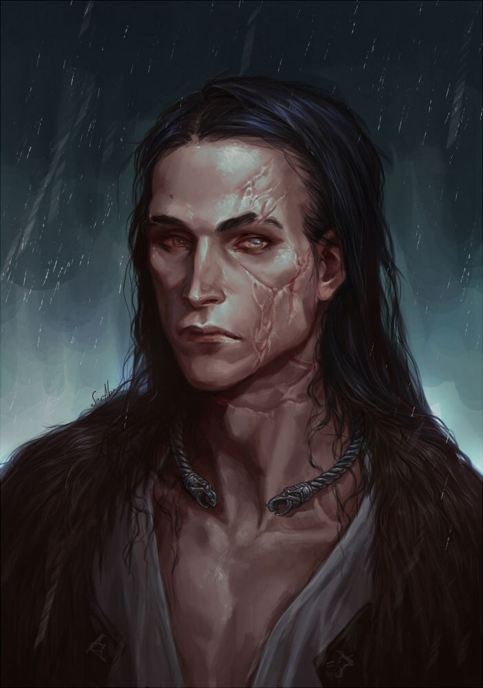 Dorvale after Kylin defeats him. Scarring his brother & making them mortal enemies for the rest of their lives. Dorvale falls faster into LORD QUERN's grip.