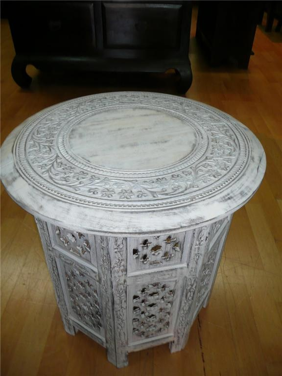 cute morrocan style bedside table