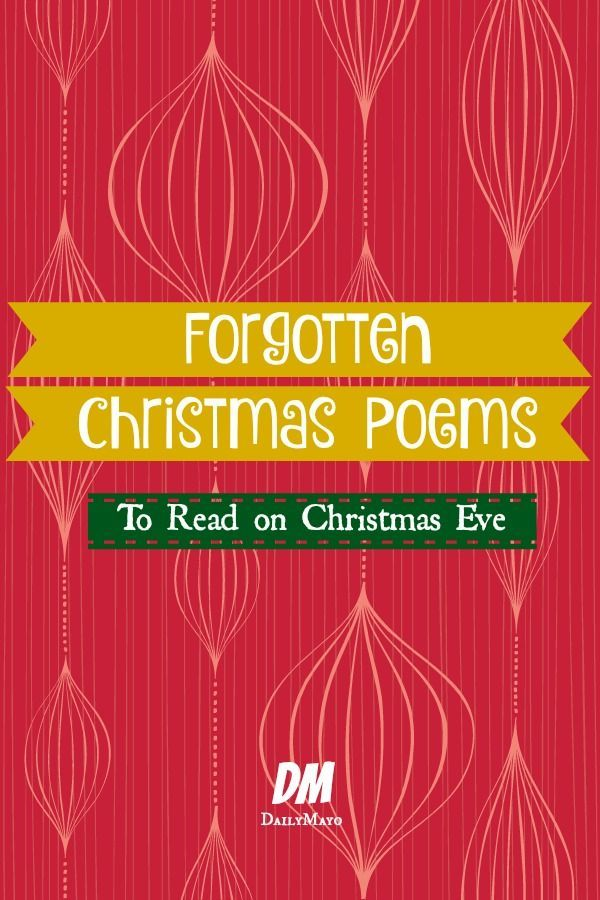 Do you love Christmas? Are you tired of the same-old Christmas poems and songs? If so, these forgotten Christmas poems are for you! Read them and enjoy!: