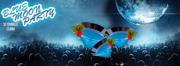 31 Temmuz'da Mavi Ay'a merhaba diyoruz!  Bu nadir doğa olayını özel olarak hazırladığımız Blue Moon Martini'lerimiz, DJ performansı ve barbekü partisi ile kutluyor, Mavi Ay'a hoşgeldin diyoruz.   Peki Blue Moon/Mavi Ay nedir? 100 yıl içerisinde yalnızca 5 kez gözüken mavi ay, bir ay içerisinde ikinci kez ortaya çıkan mavi renkli dolunaya denmekte. Yazının Devamı İçin;  http://on.fb.me/1MUtczj