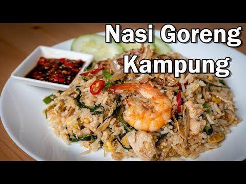 Nasi Goreng Kampung Power Yang Cukup Rencah Dan Rasanya Youtube Nasi Goreng Asian Dishes Cooking Recipes